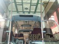 Утепление трамвая пенополиуретаном